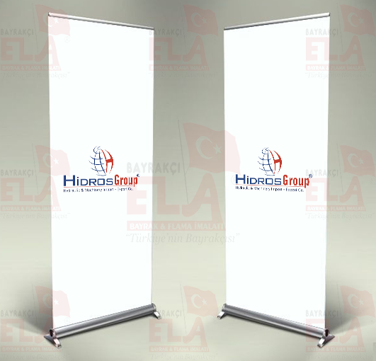 hidrosgroup Banner Roll Up